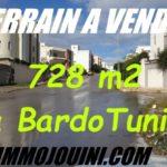 Photo-1 : Terrain 728 m² Cité Abdelaziz Skik Bardo