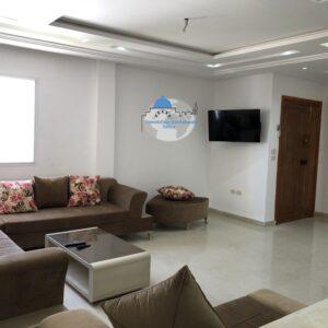 Beau appartement S+3 meublé à khezama EST