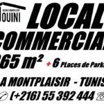 Photo-1 : Local Commercial 365 m² à Montplaisir Tunis