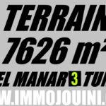 Photo-1 : Terrain 7626 m² à El Manar 3
