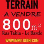 Photo-1 : Terrain 800 m² à Ras Tabia Le Bardo