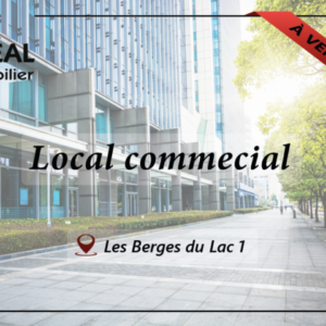 Local commercial de 60 m² aux Berges du Lac 1