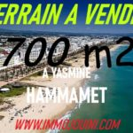 Photo-1 : Terrain 700 m² à Yasmine Hammamet