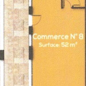 Local commercial de 52m² à AFH Mrezga, Nabeul.