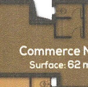 Local commercial de 62 m² à AFH Mrezga, Nabeul