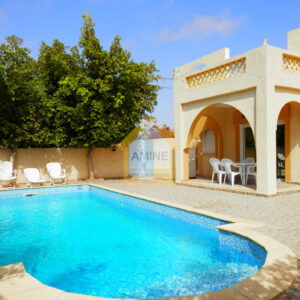 Villa avec piscine à Aghir Djerba