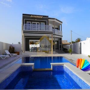 Villa avec piscine Route de phare Midoun