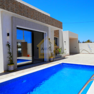 Villa de luxe avec piscine à H. Souk Djerba