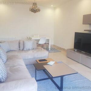 Appartement S2 meublé à Sidi Daoued, La Marsa