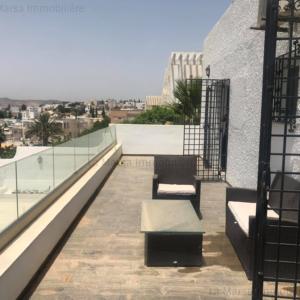 Luxueuse villa S5 avec piscine à Manar 1