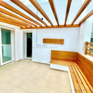 Luxueux appartement S2 à Sidi Daoued, La Marsa