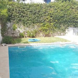 Villa S6 avec jardin et piscine à Cité les Pins, La Marsa
