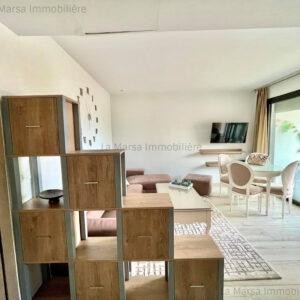 Appartement s1 meublé à Sidi Daoued, La Marsa