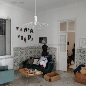 Belle maison de 450 m² au cœur de La Marsa