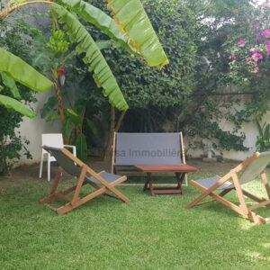 Villa S3 avec jardin à Sidi Daoued, La Marsa