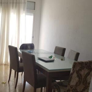 Étage de villa S2 meublé à Le Kram