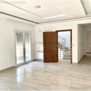 Appartement S3 neuf à La Marsa