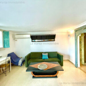 Appartement S1 meublé à La Marsa