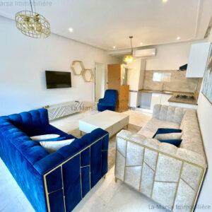 Luxueux appartement S2 meublé à La Marsa
