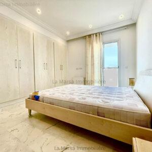 Appartement S3 meublé à 2 min du Lycée Cailloux, La Marsa