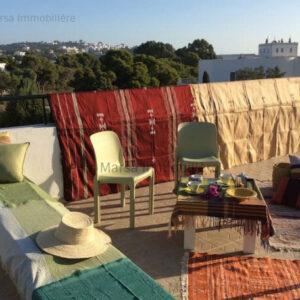 Appartement S1 meublé vue mer à Carthage