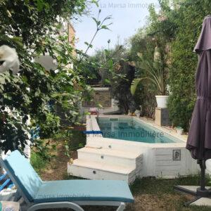 Bel appartement S2 avec piscine à 5mn de la Mer, La Marsa