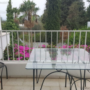 Villa S2 meublée à Carthage