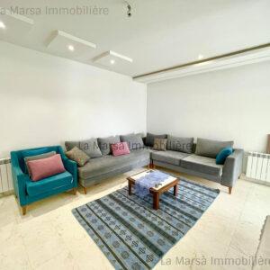 Appartement S2 meublé à Ennasr 2