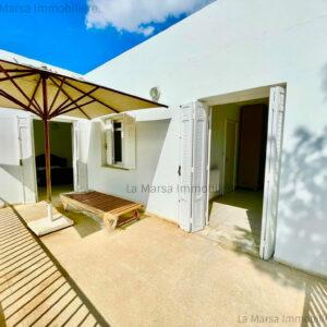 Belle villa S2 à Carthage