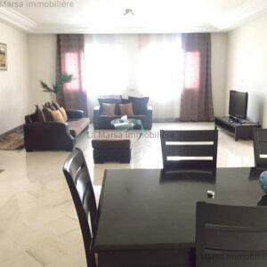 Appartement S3 meublé à Marsa ville