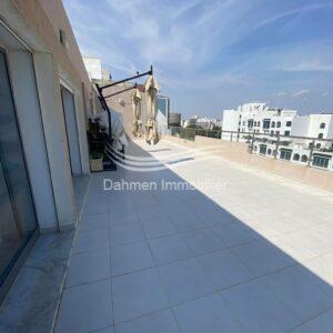 Penthouse sans meubles à Sousse – Ville