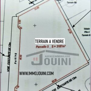 Terrain 3187 m² à Mornag