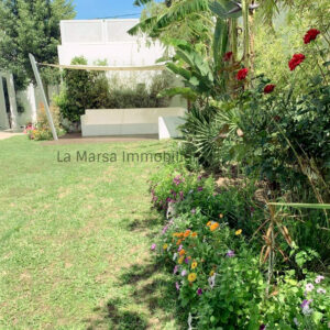 Luxueuse villa S3 avec piscine et jardin à Carthage