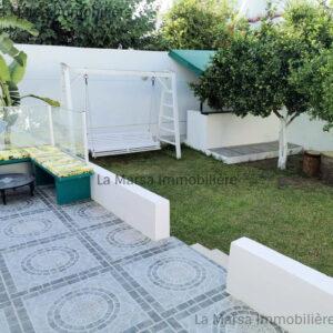Villa S3 avec jardin à La Marsa
