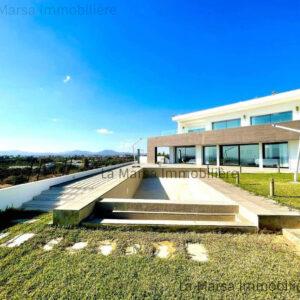 Villa luxueuse vue mer avec piscine à Hammamet