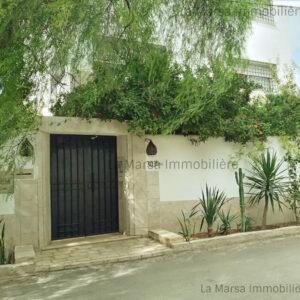 Appartement S1 meublé avec jardin à Ain Zaghouan