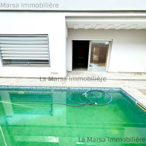 Luxueuse villa S4 avec piscine à La Soukra