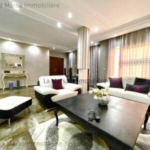 Appartement S3 meublé à 2min du Lycée Cailloux, La Marsa
