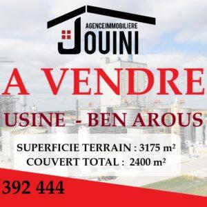 Usine 3175 m² A Ben Arous