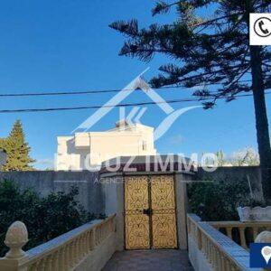 Villa Style Américain à corniche Bizerte